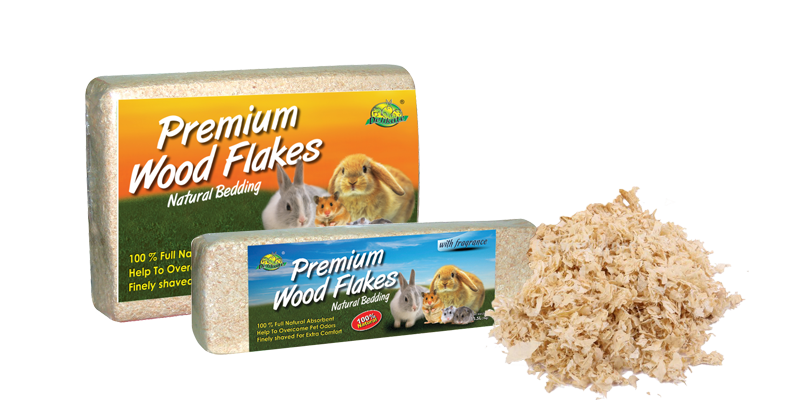 pet-sa-wood flakes
